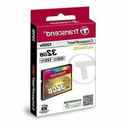 NEW   Transcend Information 32GB Compact flash Card - TS32GC