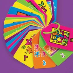 NEW Keith Haring: Colors & Numbers Ring Flash Cards