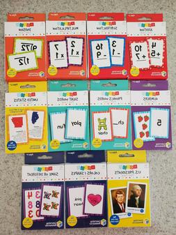 NEW Learning Resource Flash Cards-Math, Phonics, Sight Words