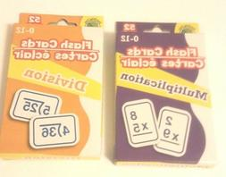 NEW Math Flash Cards Learning Multiplication and Division