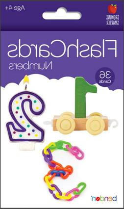 NEW Bendon Numbers 36-Count Flash Cards - Home School, Educa