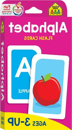 NEW Set of A-Z Alphabet Flash Cards  Educational - Toddler -