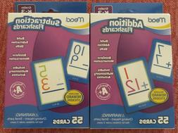 "NIP ""Mead"" Addition and Subtraction Flash Cards-55 cards in"