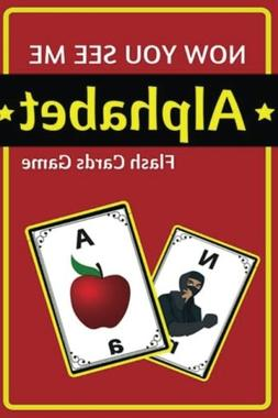 Now You See Me Alphabet Flash Cards Game