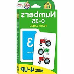 Numbers 0 25 Flash Cards Ages 4 6 Preschool Up Math Equation