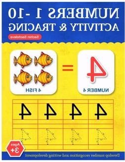 Numbers 1-10: Activity and Tracing Workbook for Kids Ages 3-