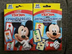 NUMBERS & COUNTING,COLOR & SHAPES, MICKEY MOUSE Disney FLASH