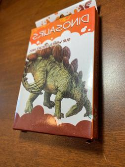 our world dinosaurs interactive flashcards