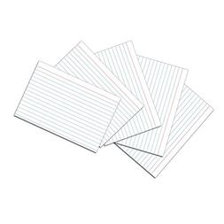 """Pacon PAC5136 Index Cards, 4"""" x 6"""", 1/4"""" Ruled, White, Pack"""
