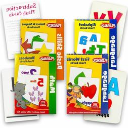 Playskool Flash Cards 4pcs SET Alphabet / First Words / Shap