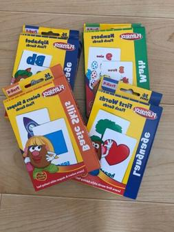 Playskool Flash Cards ONE 1 Set First Words / Shapes Colors