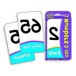 Numbers 0-100 Pocket Flash Cards by Trend Enterprises Inc