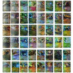 Pokemon 100 Flash Card Lot Rare 20 Mega+80 EX Cards No Repea