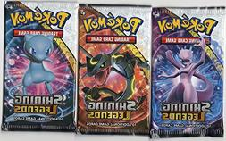 Pokemon - Sun and Moon Shining Legends Booster Pack - Set of