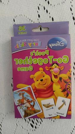 Disney Pooh's Go-Together Game Learn to Group Learning Kids