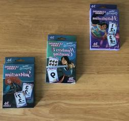 princess learning flash cards lot of 3