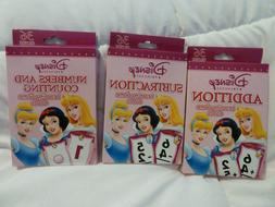 princess learning game flash cards add subtract