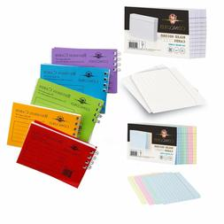 Revision / Flash / Index Ruled Record Cards - buy more, save