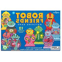 Eeboo Robot and Friends Matching Game
