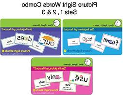 I See, I Spell, I Learn - Picture Sight Words Flashcards Set