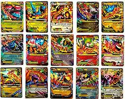 Promotion Set of Pokemon Mega Ex Cards Proxy Cards for Game