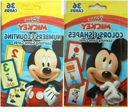 SET of 2 -Flash Cards For Kids Toddlers Disney- Numbers Coun