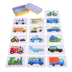32 Pieces/set Baby Toddlers Learning Cards Toys Cognition pu