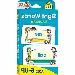 sight words flash cards ages 5 up