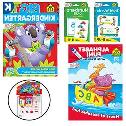 School Zone Numbers 0-25 & Sight Words Flash Cards with Big