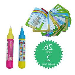 Toybrilla Sight Words Flash Cards Water Magic Colors Numbers