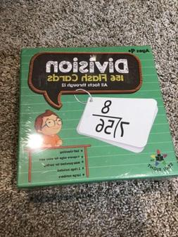 Star Education Math Division Flash Cards, 0-12  With 2 Rings