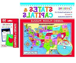 Creative Teaching Materials – States & Capitals Jumbo floo