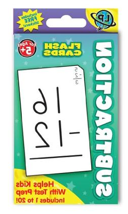 Eureka Subtraction Flashcards