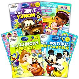 Disney Workbooks Super Set Kindergarten First Grade -- 4 Wor