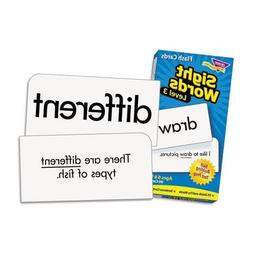 "Trend T53019 Skill Drill Flash Cards, 3 3/8"" x 6 1/4"", Sight"