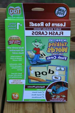 Leapfrog TAG Phonics Book Interactive Talking Words Factory