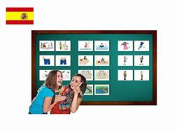 Tarjetas de vocabulario - Adjectives Flashcards in Spanish -