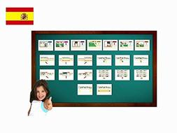 Tarjetas de vocabulario - Calendario - Calendar Flashcards i
