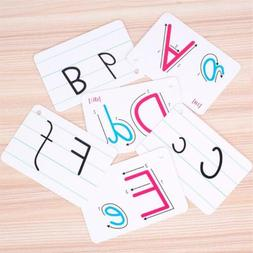 Toddler Educational Toy Child Flash Cards Words Baby Kids Le