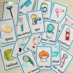 Toddler Infant Flash CARDS / Early Education Toys Gifts/ Alp