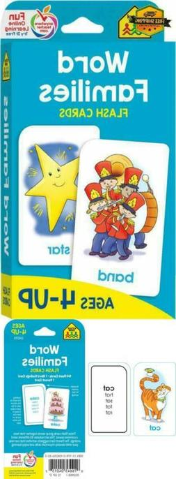 Toys for Boys Girls Words Flash Cards 4 5 6 7 Years Old Kids