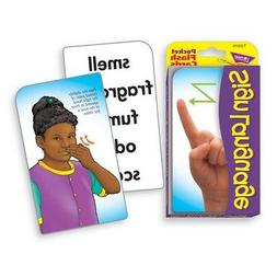 TREND Sign Language Pocket Flash Cards  - Sign Language Pock