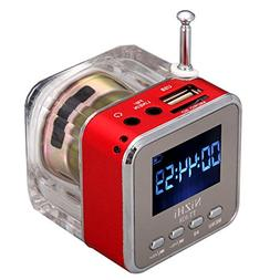 NIZHI TT-028 Portable Music box USB TF Micro SD Card MP3 Pla