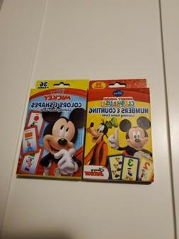 Two Disney Mickey Mouse Clubhouse Numbers Counting Colors Sh