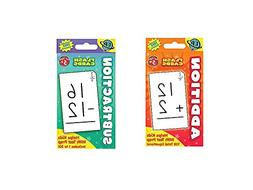 Two  Sets FLASH CARDS - Addition & Subtraction -EARLY Learni