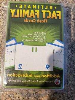Ultimate Fact Family Addition & Subtraction Flash Cards, Sch
