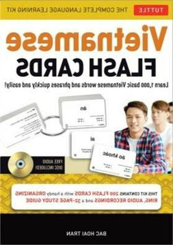 Vietnamese Flash Cards Kit: The Complete Language Learning K