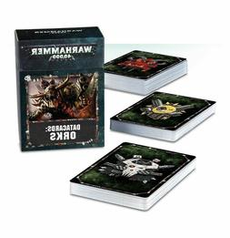Warhammer 40k - Orks Data Cards - Ork 8th Edition New!