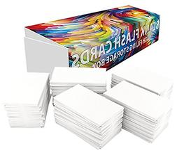 DEBRADALE DESIGNS Small Blank Study Flash Cards - 2 x 3.5 In