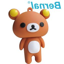 Wholesale Price Standing Cute bear 4G 8G 16G 32G 64G usb <fo